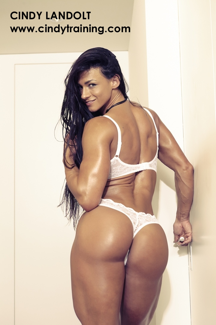 Bodybuilder Women In Lingerie 7