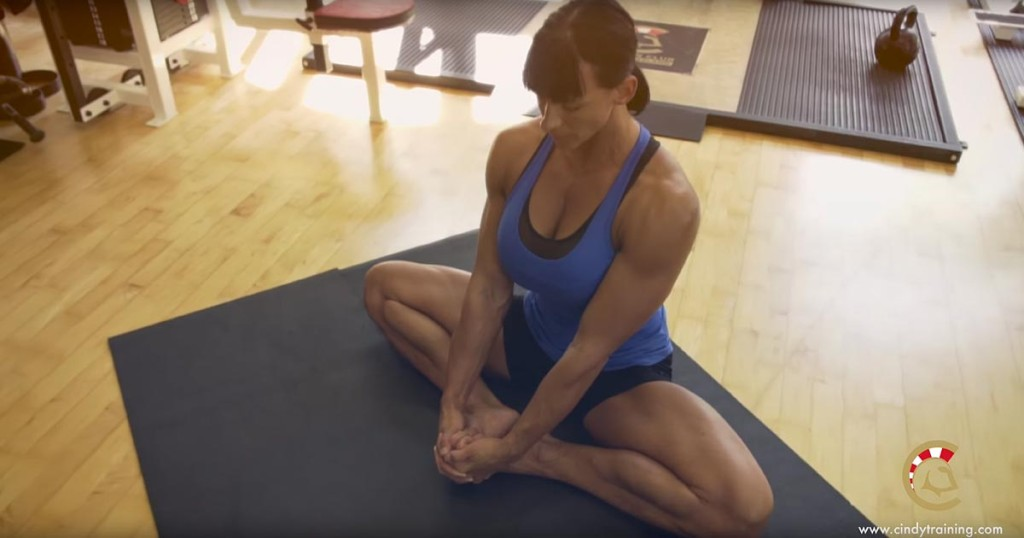 My morning stretching for my feet. Using my